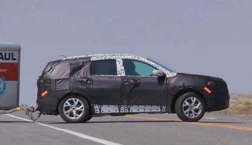 2018 Chevrolet Traverse spy photo