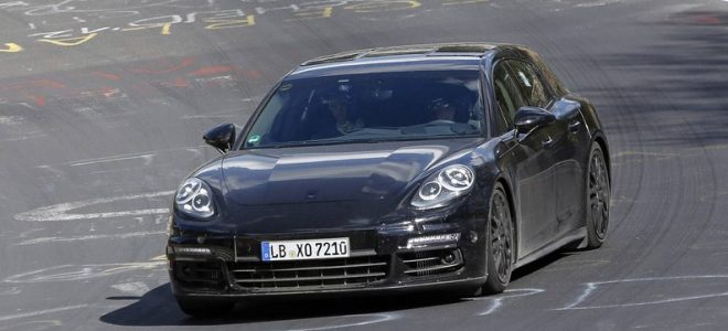 2018 Porsche Panamera spy photo