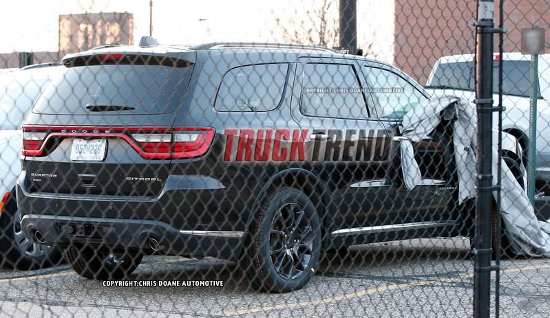 rear view - 2018 Dodge Hellcat Durango