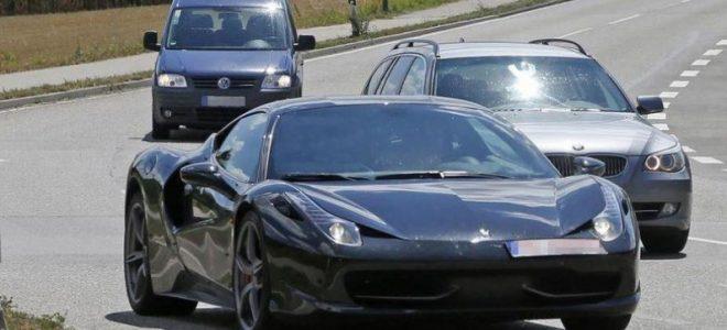 2018 Ferrari Dino - front view