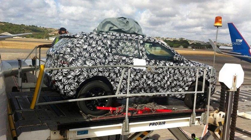 spy photo 2017 Fiat C-SUV