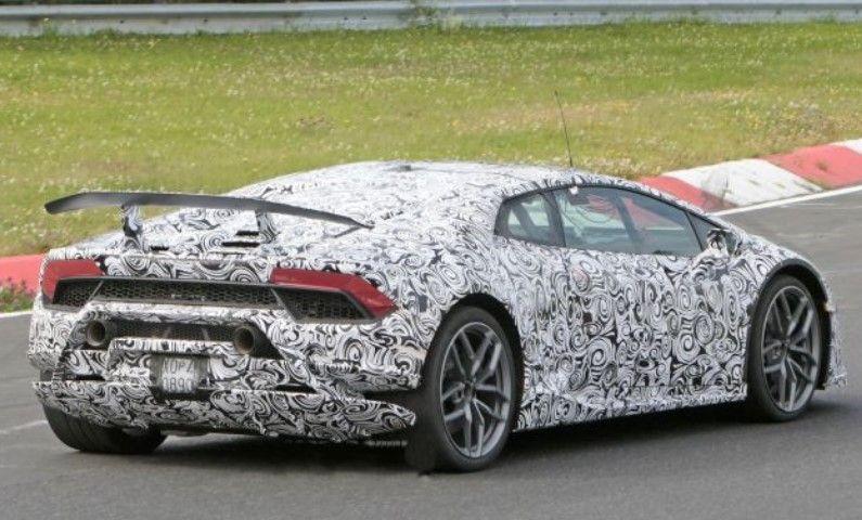2018 Lamborghini Huracan Superleggera Spy Shots Price