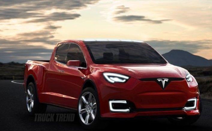 Tesla Model U Pickup