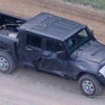 top view 2019 Jeep Wrangler pickup
