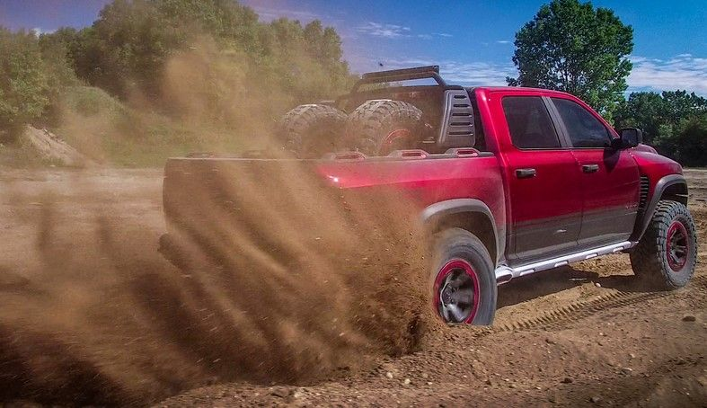 Ram Rebel Price >> 2017 Ram Rebel TRX Concept - Hellcat Off-Road Truck ...