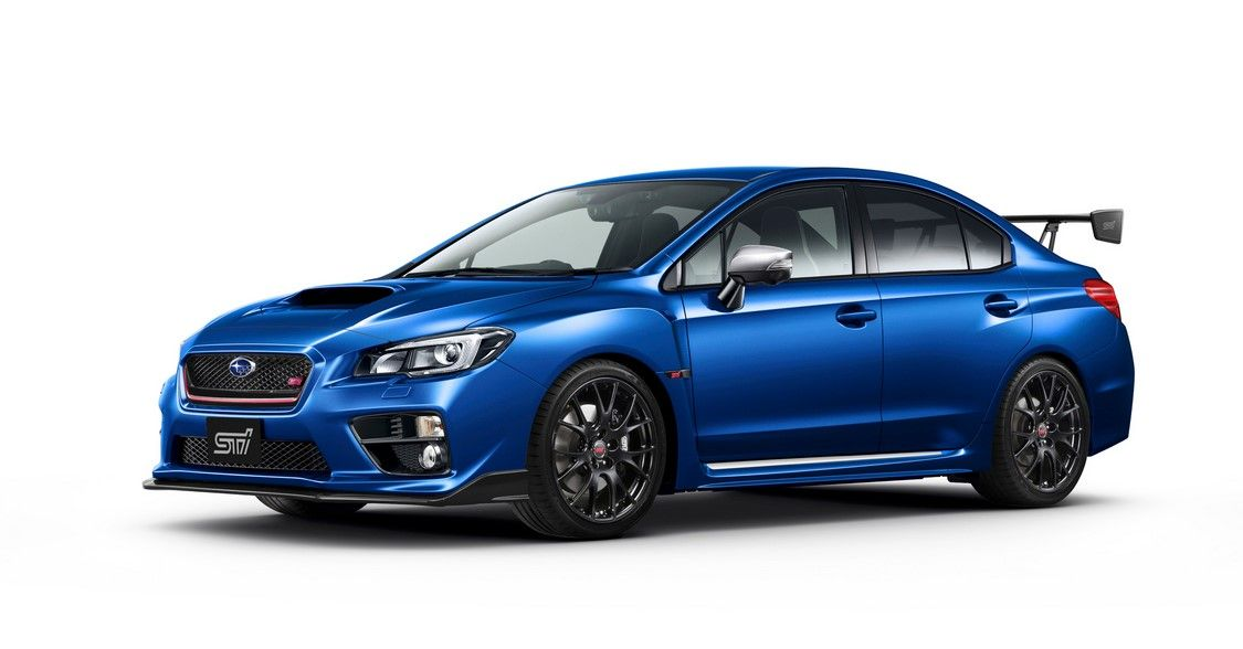 2017 Subaru WRX S4 tS Special Edition for Japan | Limited Model ...