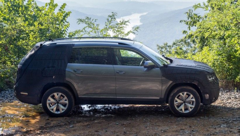 2017 Volkswagen Atlas Spy Shots, Price | New SUV to be called the Atlas