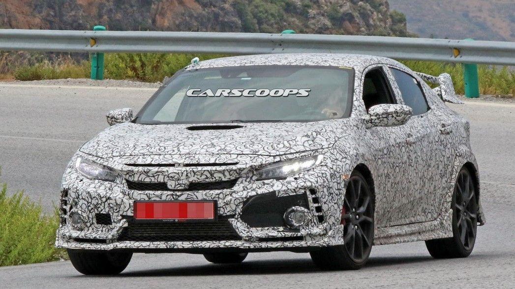 2018 Honda Civic Type R First Spy Shots, Price, Specs ...