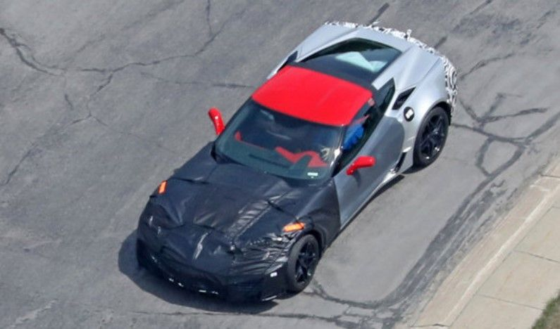 2018 Chevrolet Corvette ZR1 First spy photos! Price, 700hp+ @ Chevrolet