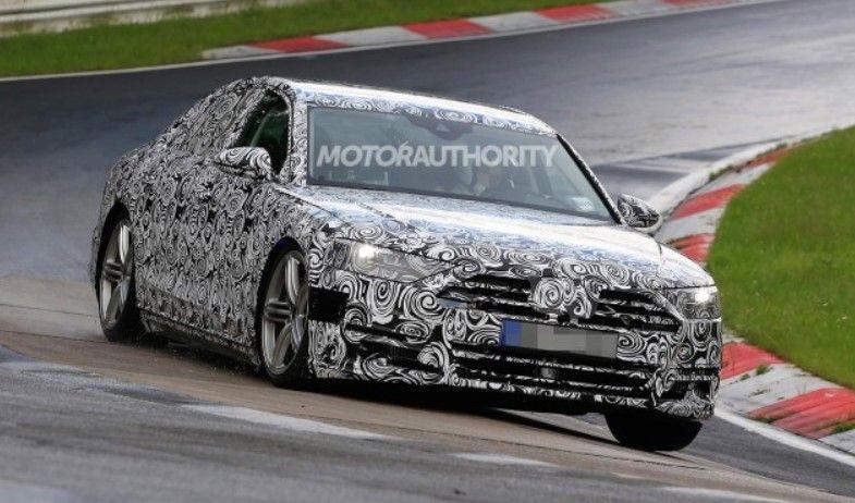2017 Audi A8 h tron