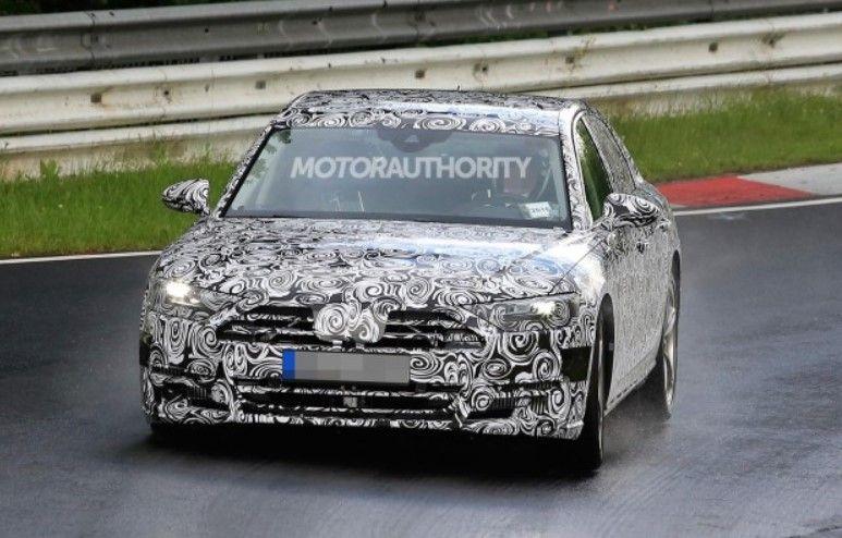2017 Audi A8 h tron front view