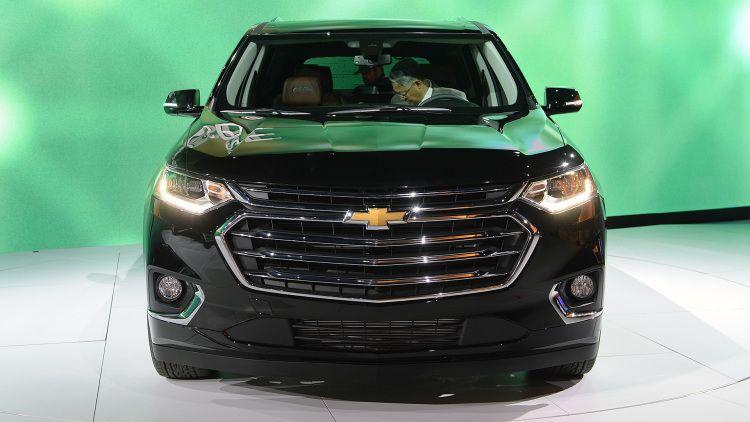 2018 Chevrolet Traverse Spy Photos Price Release Date