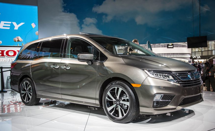 2018 Honda Odyssey - Premiere at 2017 NAIAS   Price, Specs, Review
