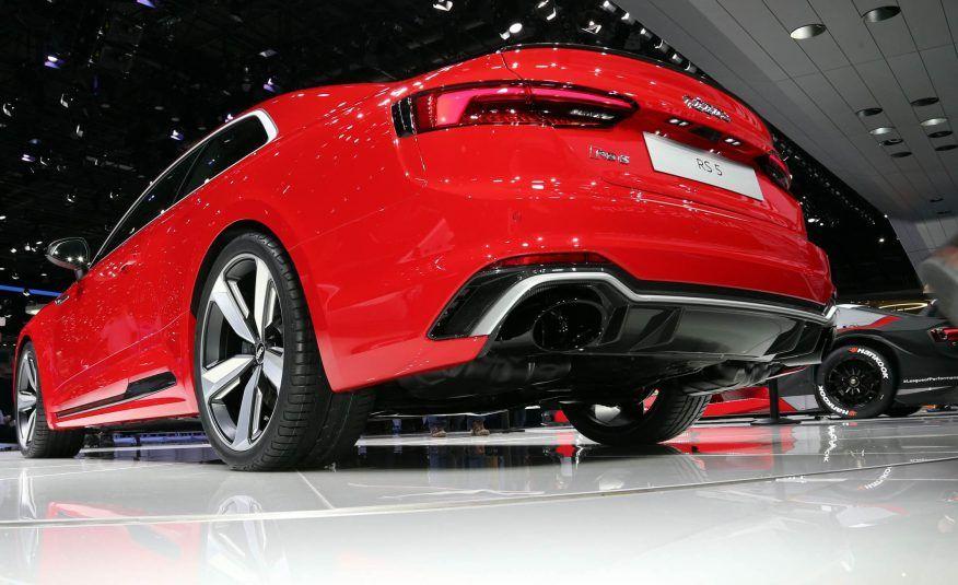 2018 Audi RS5 rear view