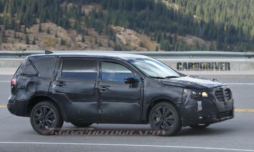 2018 Subaru Ascent Spy Photos Price Release Date Review News