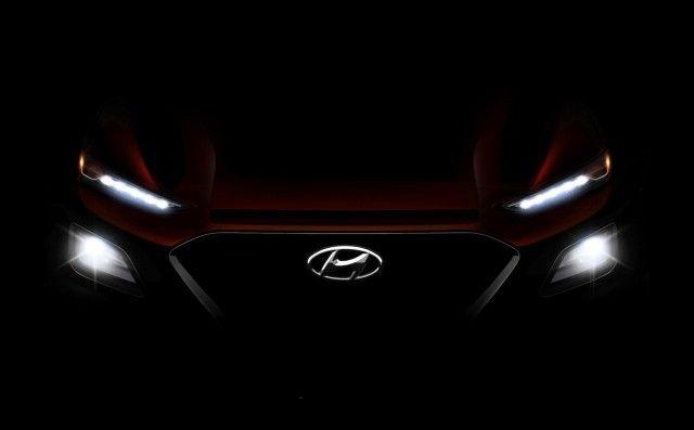 2018 Hyundai Kona head lights