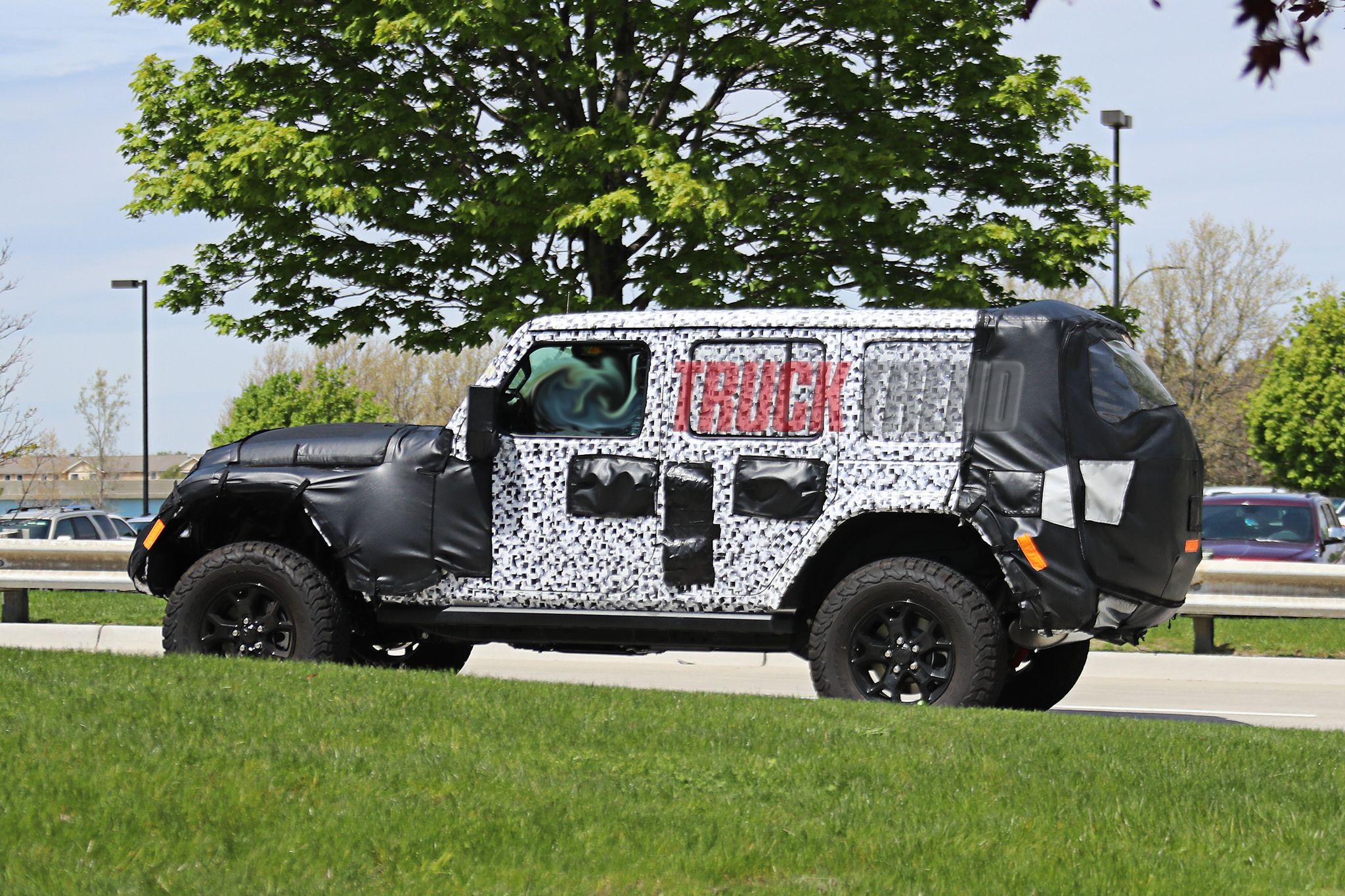 Jeep Wrangler Diesel >> 2018 Jeep JL Wrangler - SPIED! Spy Photos, Price, Release date