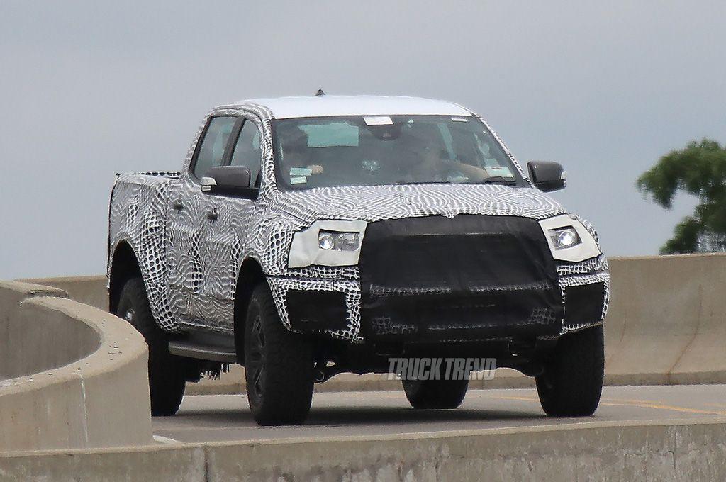 2020 Ford Ranger Raptor - Spy Photos, News, Diesel ...