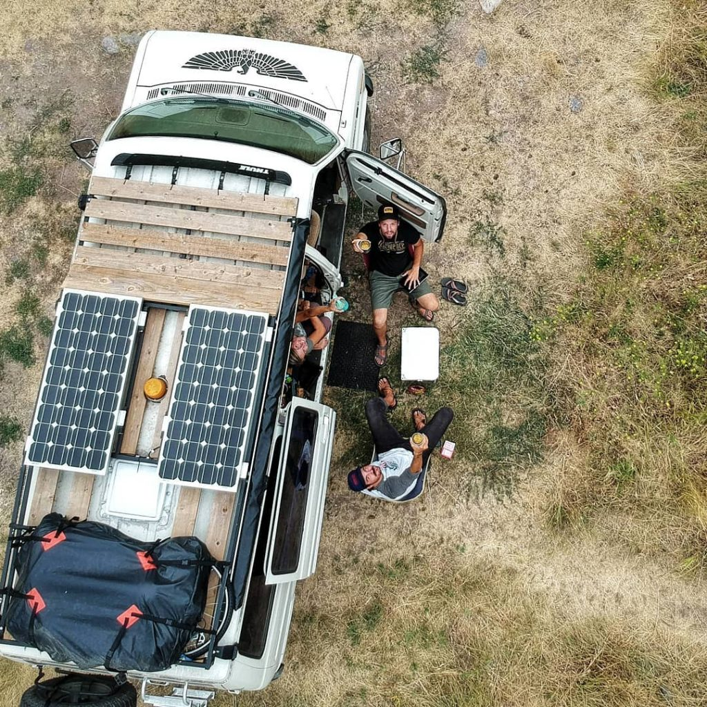 How To Setup A Portable Solar System To An Rv Step By